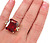 Impressive Pyrope Garnet & Diamond Ring