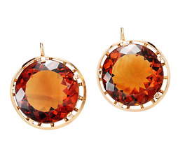 Evocative Citrine Earrings
