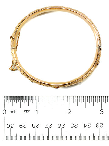 American Royalty: Edwardian Krementz Bangle Bracelet