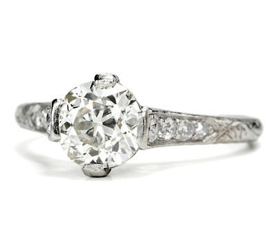 They Do Come True – 1.22 c Diamond Engagement Ring