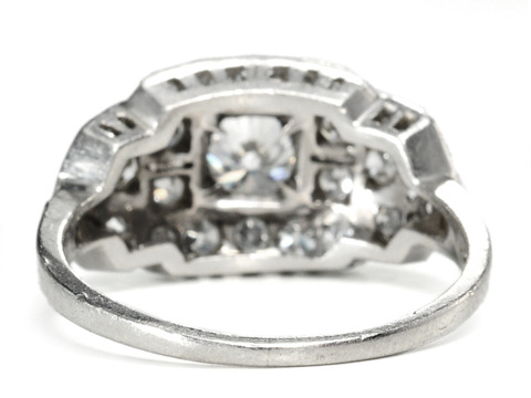 Ethereal Diamond Platinum Ring