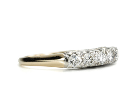 Brilliance in a Eternity Band Wedding Ring