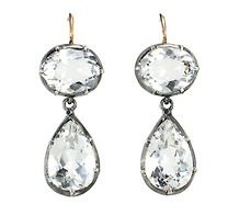 Rock Crystal Allure - The Perfect Earring