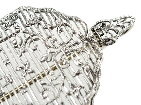 Filigree Phenom: Art Deco Diamond Brooch Pendant