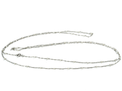 Ultimate Pearl & Platinum Necklace