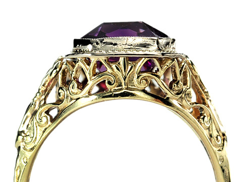 1930s Perfection in an Amethyst Ring