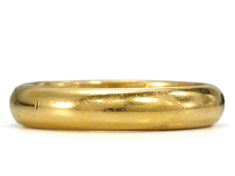 "17th C. Poesy Ring ""Keepe Faith Till Death"""