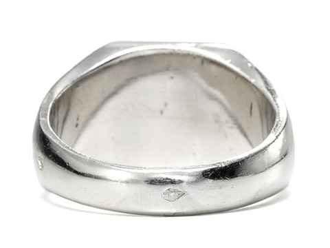 D'Accord: Smashing French Silver Ring