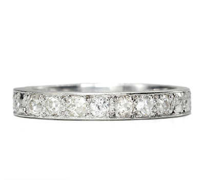 Can't Resist: French Half Eternity Diamond Ring