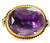 Georgian Antique Amethyst Ring