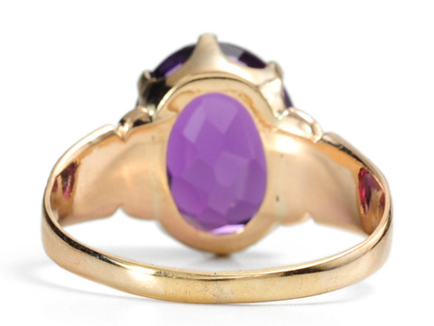 Turn-of-the-20th Century Amethyst Ring