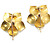 Late 19th C. Dogwood Blossom Diamond Earrings