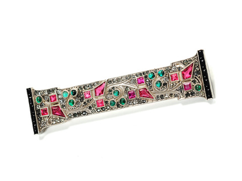 Scintillating French Art Deco Brooch
