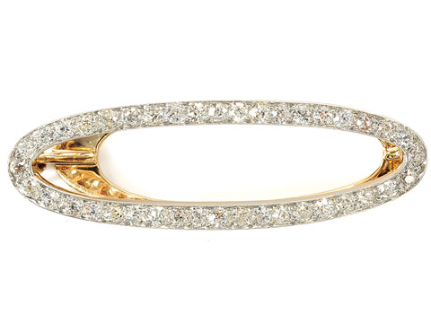 Edwardian Fancy: Diamond Hair Clip