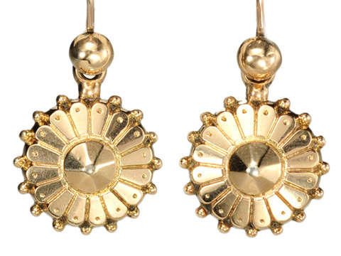 Fabulous Victorian Day Night Earrings