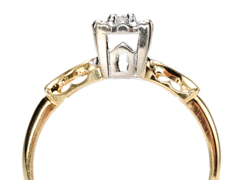 Oh So Desirable Vintage Diamond Ring