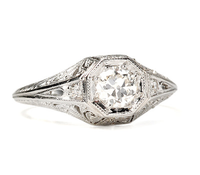 Luscious Diamond Engagement Ring