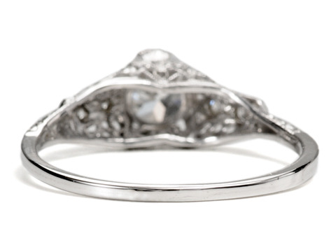 Dashing Diamond Engagement Ring