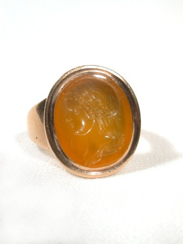 Eighteenth Century Classical Intaglio Ring - Presumed Pichler
