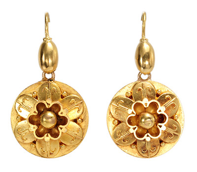 Mid Victorian Daytime Earrings
