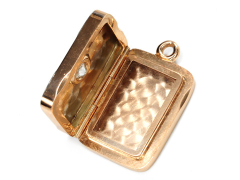 Sunlight & Diamonds Edwardian Locket Pendant