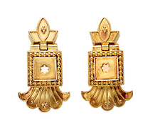 Archaeological Revival in an Antique Earrings