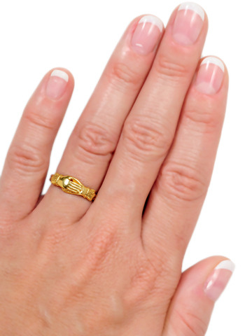 Forever More: Gimmel Fede Ring