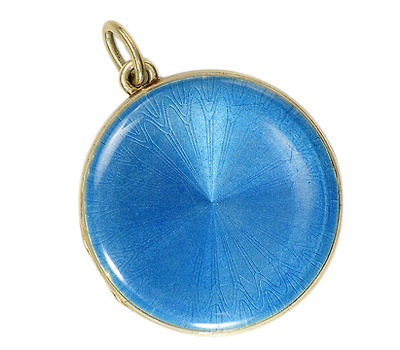 Antique Tiffany & Co. Guilloché  Enamel Locket