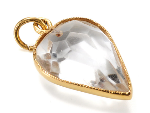 18th C. Rock Crystal Heart Pendant