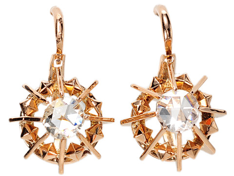 Ooh, La La: Antique French Diamond Earrings
