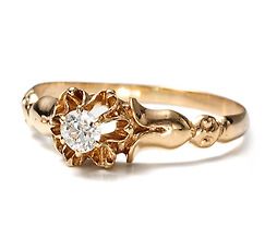 Daisies & Buttercups - Vintage Engagement Ring