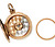 Art Deco Platinum Rose Gold & Diamond Locket