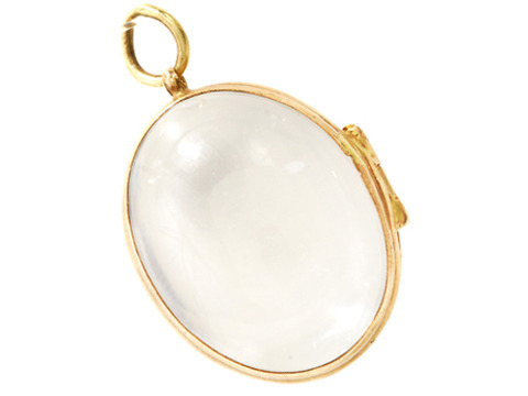 See All: Antique Rock Crystal Locket