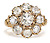 Regal Diamond Cluster Ring