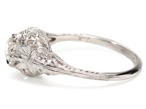20th C. Diamond Engagement Ring