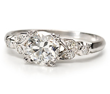 Wow Factor: 1.06 ct. Diamond Engagement Ring