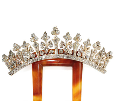 For a Lifetime: Victorian Diamond Hair Comb