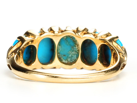 Winning Hand: Edwardian Turquoise Ring