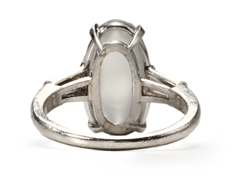 Raymond Yard Moonstone Diamond Ring