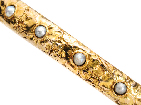 Christmas Comes Early - Newark Pearl Bracelet