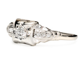 Adorn the Hand: Diamond Engagement Ring