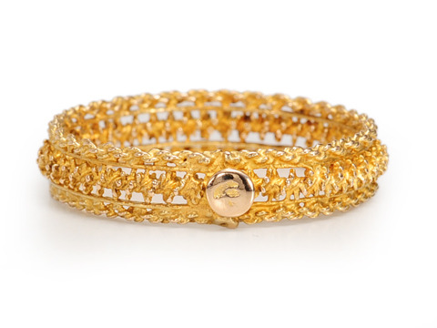 A Ring with a Twist - Gold Eternity Ring