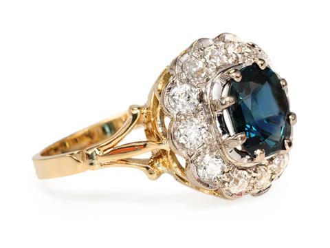 Peacock Divine - Unbelievable Sapphire Ring!