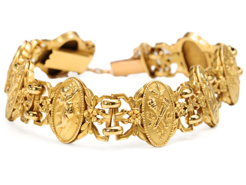 Edwardian Angels: French Cherub Bracelet