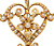 Music for the Heart: Antique Pendant & Chain