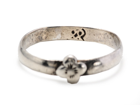 A Time Machine: Medieval Silver Ring