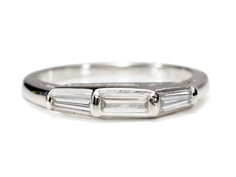 Diamond Baguette Wedding Ring