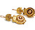 Etruscan Revival Solid Gold Earrings
