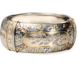 On the Cuff: Victorian Bangle Bracelet
