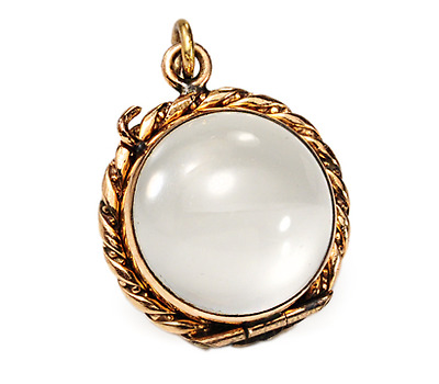 Edwardian Memories: Rose Gold Locket Pendant